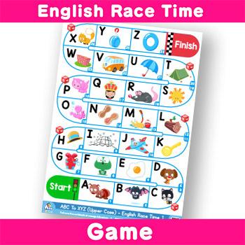 English Race Time -Alphabet ABC to XYZ