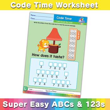 ABCs Alphabet Decoding Worksheets Uppercase l