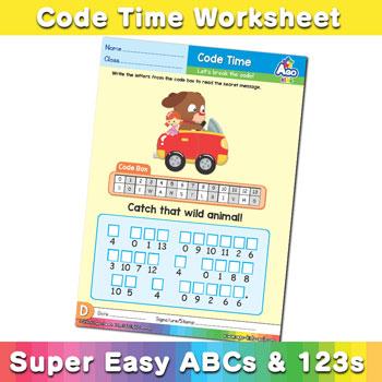 Alphabet Decoder Worksheets (lowercase letter d) - BINGOBONGO