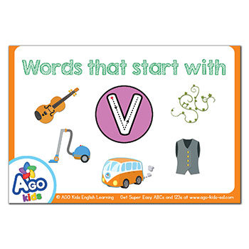 FREE Flashcards that start with the letter V