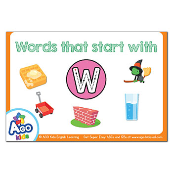 FREE Flashcards that start with the letter W