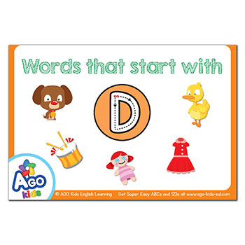 FREE Flashcards that start with the letter D