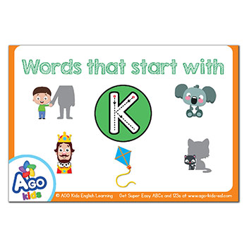 FREE Flashcards that start with the letter K