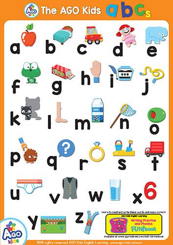 lowercase capital Free abc 123 posters esl efl classroom