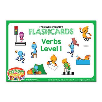 Verbs Flashcards Set 1