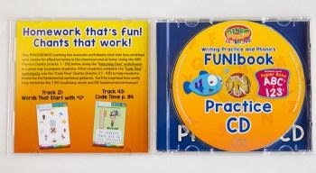 BINGOBONGO practice CD ABCs 123s phonics inside