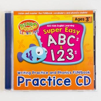 BINGOBONGO practice CD ABCs 123s phonics