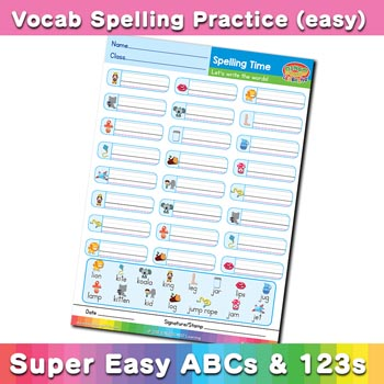 free esl spelling worksheet j k l