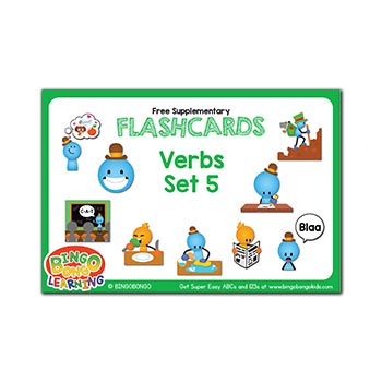 Free ESL flashcards verbs