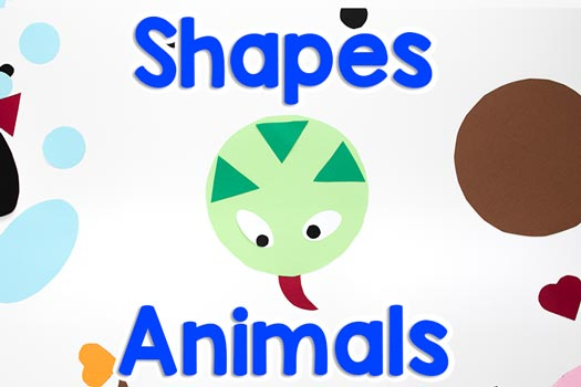 Animals from Shapes Free Download