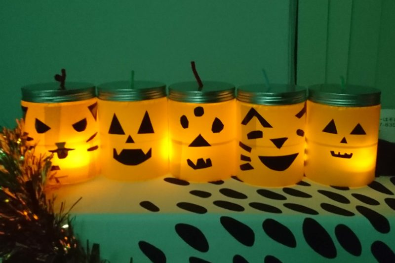 cute kids'jack-o'-lanterns
