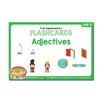Unit 6 flashcard adjectives