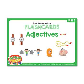 Unit 7 flashcards adjectives