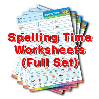 ESL spelling worksheets