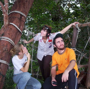 With Esther Rose and Persephone high in the tropical canopy