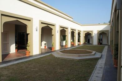 Classroom courtyard