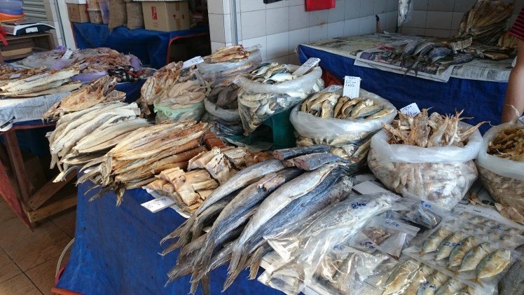 Dried fish, salted fish