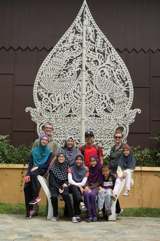 Ornate Javanese Chair
