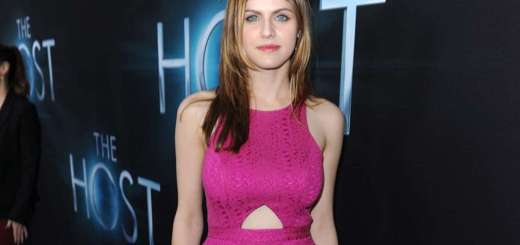 Alexandra Daddario at The Host premiere in Hollywood