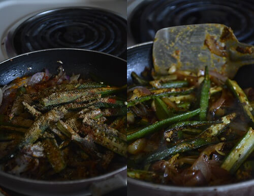Bhindi Do Pyaza 4