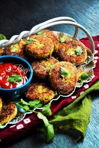 Sprouted Moong Cutlet  (Tikki/Kabab)