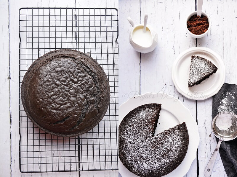 Chocolate Banana Cake 4 WT S
