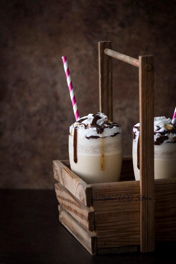 Homemade Frappuccino Photography