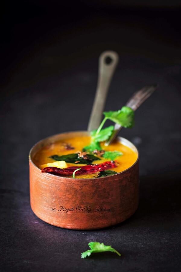 Restaurant Style Tiffin Sambar Photography