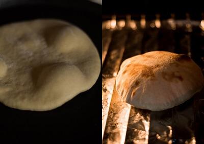 Homemade Whole Wheat Pita Bread 3