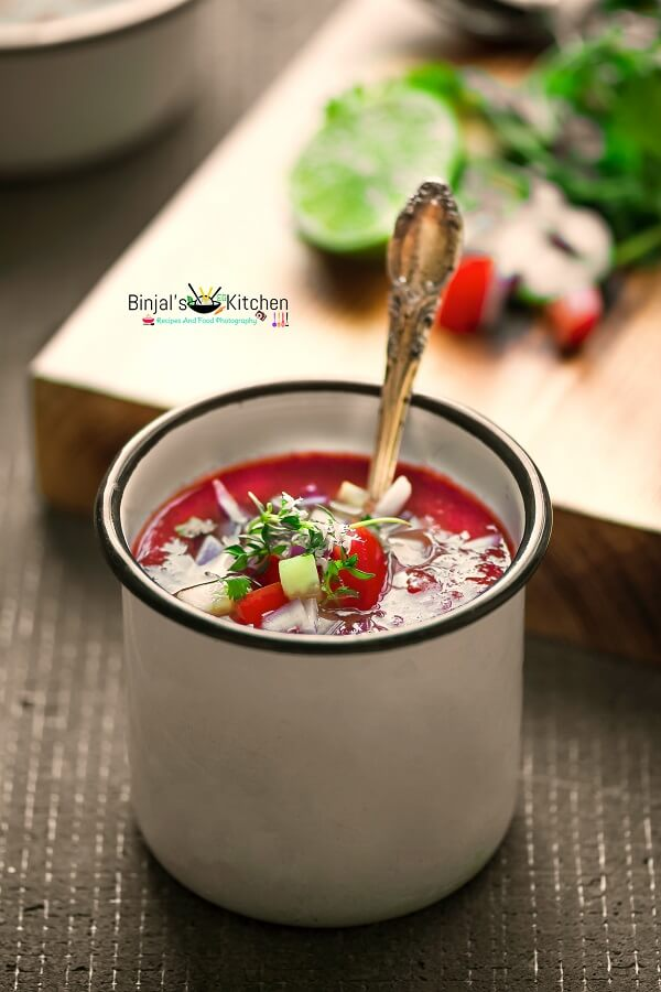 Watermelon Gazpacho  Photography