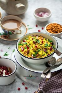 Indori Poha Recipe (Indori Pohe)