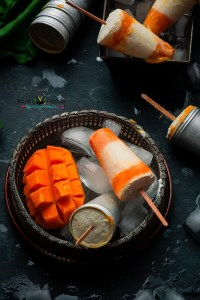 Mango Lassi Popsicles Recipe