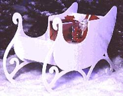 Christmas Woodworking Plans Sleigh Woodworking Plan