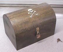 pirate chest patterns