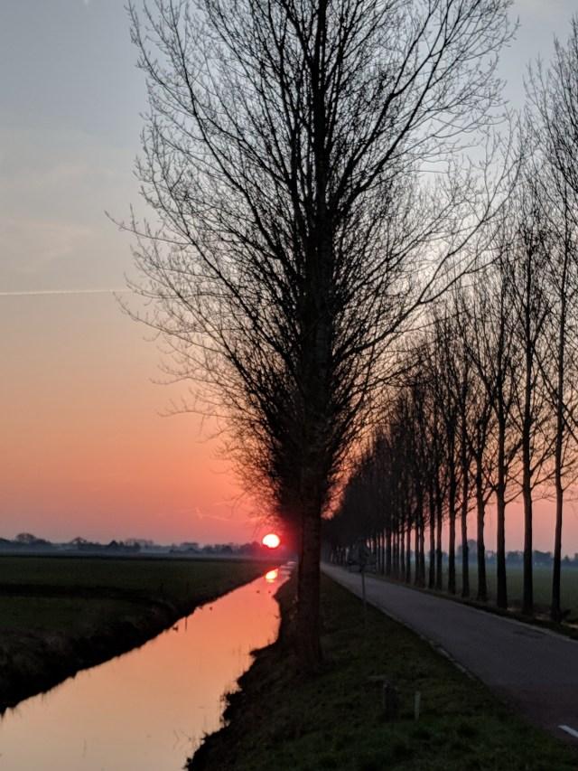 Beemster in Beeld - Oosthuizerweg richting Middenweg