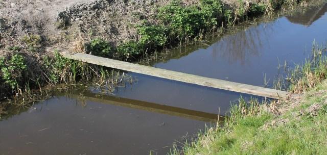 Beemster in Beeld - Plank over sloot