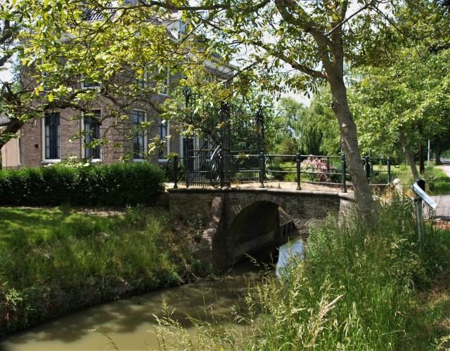 Beemster in Beeld - Herenhuis, hoek Volgerweg/Middenweg