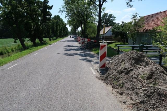 Beemster in Beeld - Rommeltje aan Nekkerweg ivm aanleg nieuwe waterleiding