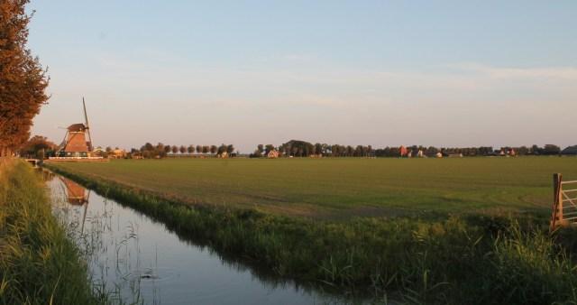 Beemster in Beeld - Avondlicht over de velden