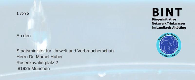 Fragen an Staatsminister für Umwelt- und Verbraucherschutz, Dr. Marcel Huber