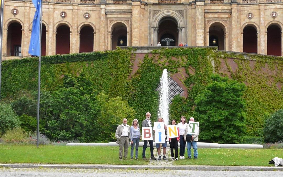BINT-Stimme Delegation  im Bayerischen Landtag