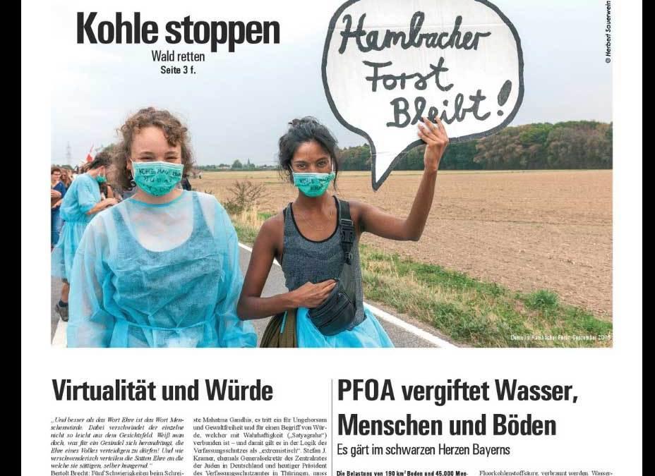 PFOA – Artikel in der Graswurzelrevolution