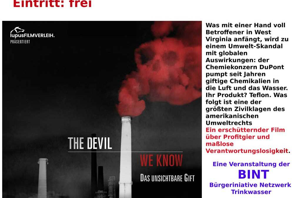 BINT zeigt Film: The Devil we know
