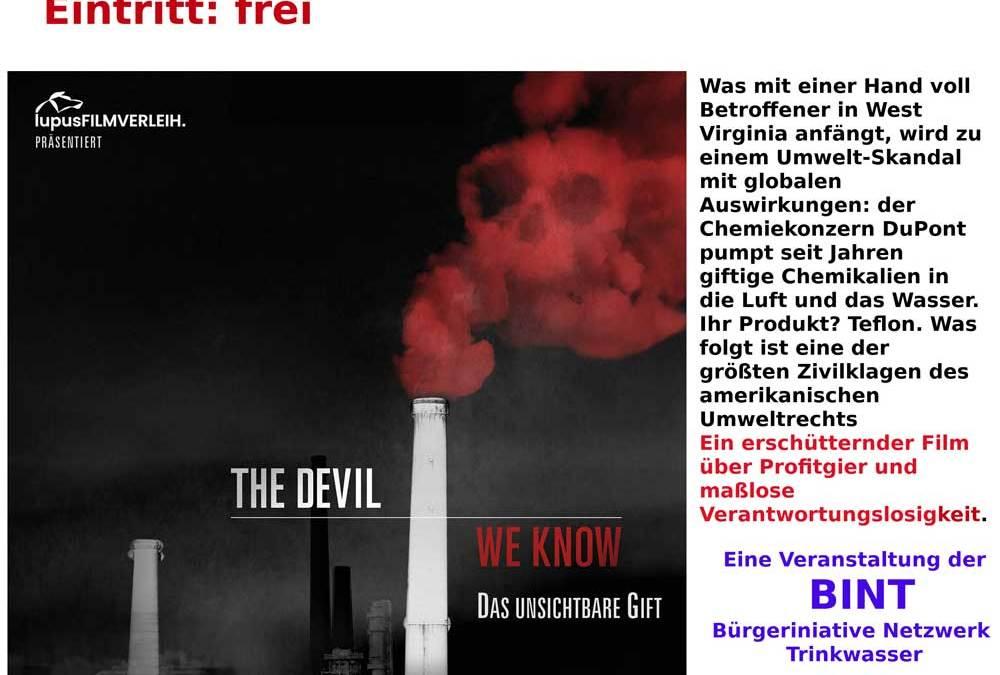 28. 05. 2019 – Anker Kino Burghausen – PFOA-Umweltdoku