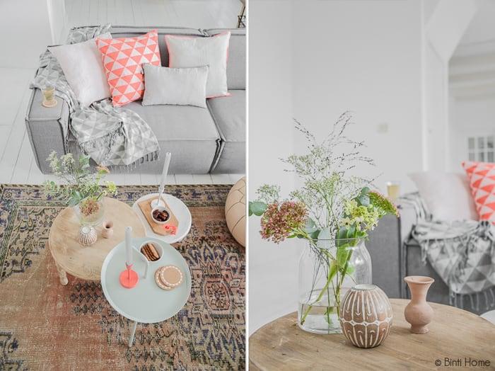 Kleurrijke woonkamer styling   Binti Home