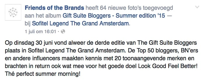 Friends of the brands Giftsuite Amsterdam Souraya Hassan Binti Home