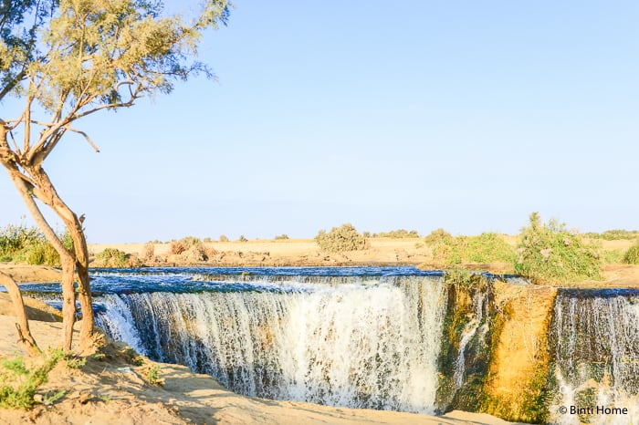 Wadi El Rayan waterfall Egypt Fayoum Experience This is Egypt campaignBintiHome