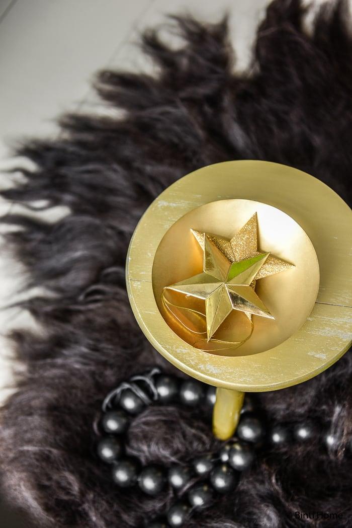 Kerststyling zwart goud groen Stek magazine ©BintiHome