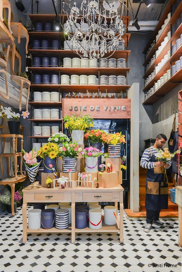 Flower shop Cairo Joie de Vivre Zamalek Florist  ©BintiHome