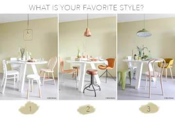 3 Round table styling ideas ©BintiHome